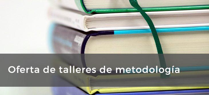 Oferta de talleres de metodología