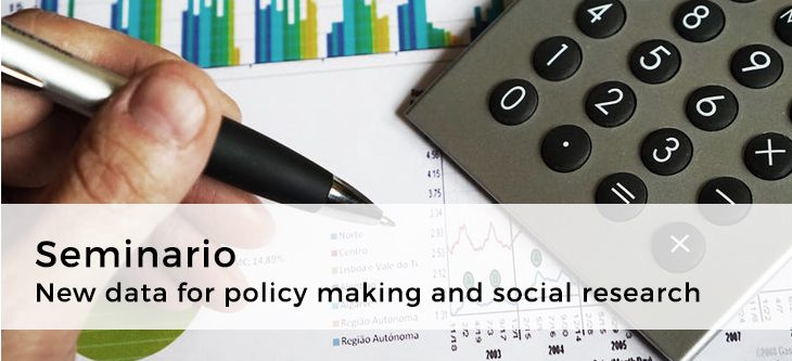 Seminario – New data for policy making and social research